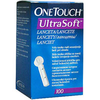 Ланцеты для глюкометра Life Scan One Touch Ultra Soft №100