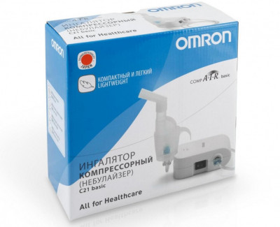 Компрессорный ингалятор Omron CompAir C21 Basic
