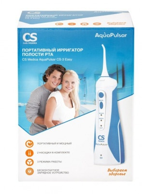 Ирригатор CS Medica AquaPulsar CS-3 Easy портативный